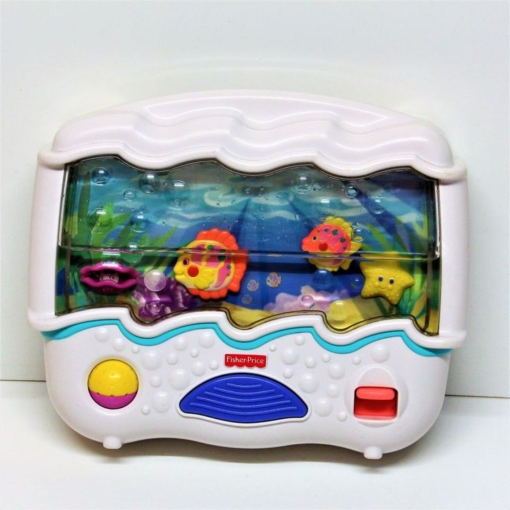 Fisher Price Ocean Wonders Aquarium Baby Crib Musical
