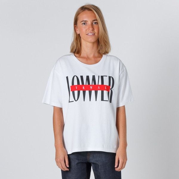 Lower Active Tee 95 - White