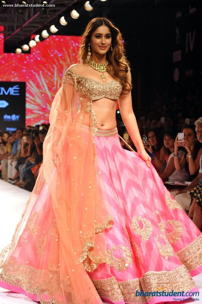 Ileana D'Cruz Walks the Ramp for Anushree Reddy Show at LFW Summer/Resort 2015