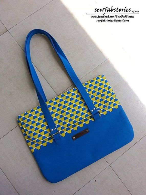 Paige Portfolio Bag PDF Sewing Pattern 2 sizes
