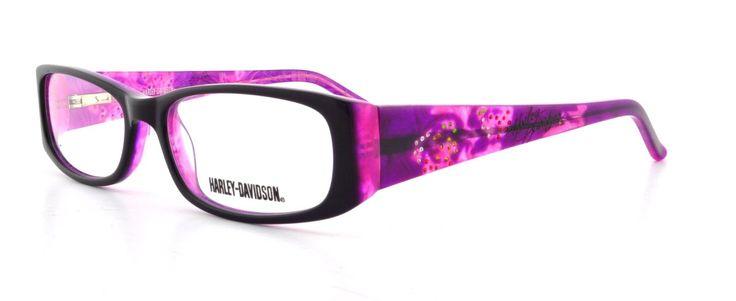 HARLEY DAVIDSON Eyeglasses HD 387 Purple Lavender 53MM