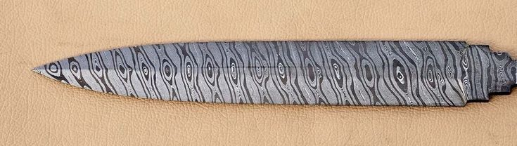 Handmade Twisted Damascus Steel Dagger Knife Blade Blank For Knife Making Supply #BLADESNKNIVES