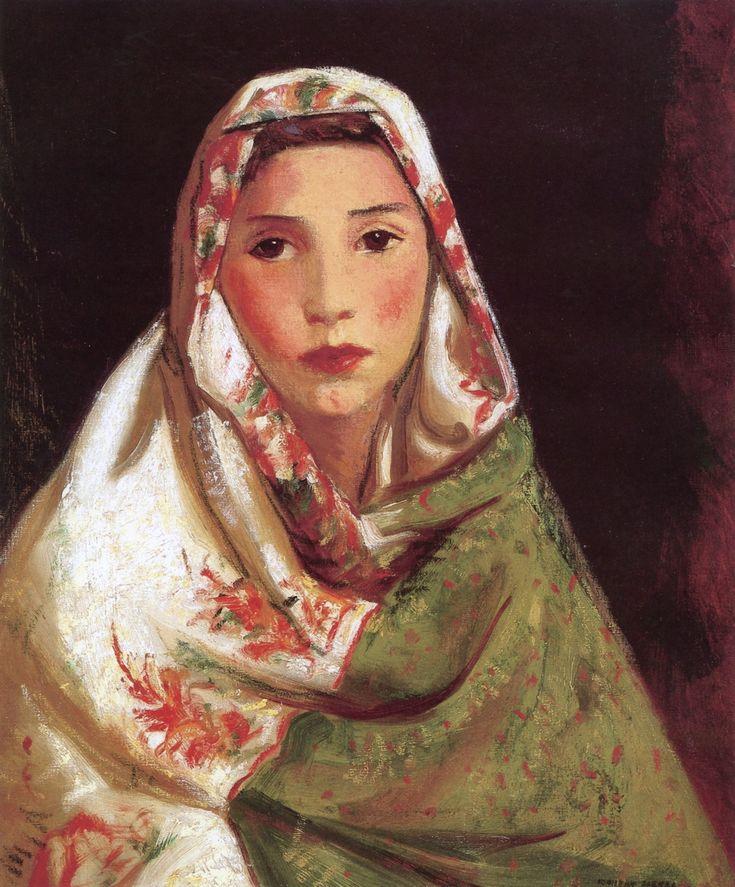The Athenaeum - Mexican Girl, Maria (Robert Henri - )