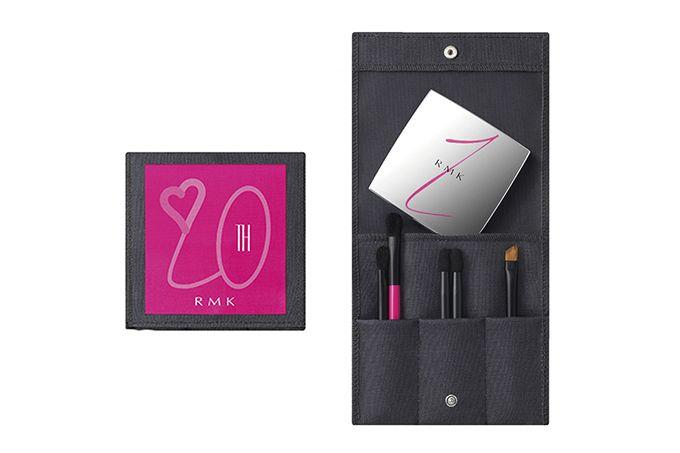 RMKの20周年記念メイクアップ - 6色がロゴを描くアイシャドウパレットや新色アイシャドウ&チーク | ファッションプレス