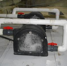 Two PowerSpouts in Operation - hydroelectric power for residential use