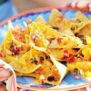 Recept - Nachos met kaas en koriander - Allerhande