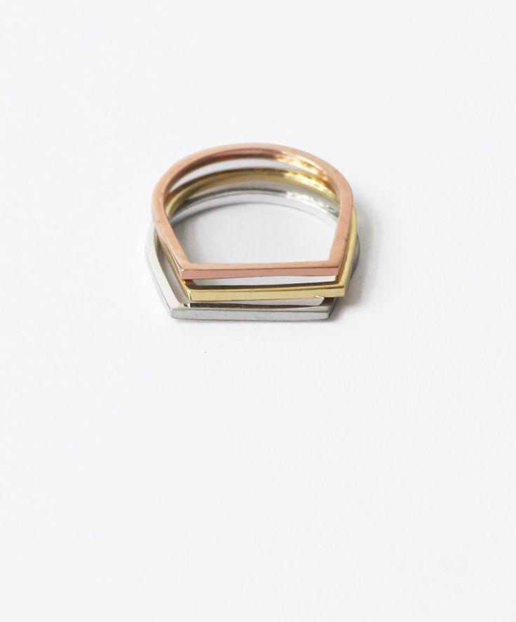 Still House Line Ring | Accesorios | Pinterest