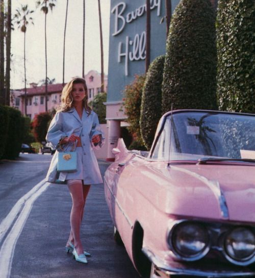 FOR THE HONEYMOON || Los Angeles, the Beverly Hills Hotel || NOVELA BRIDE...where the modern romantics play & plan the most stylish weddings...www.novelabride.com #jointheclique