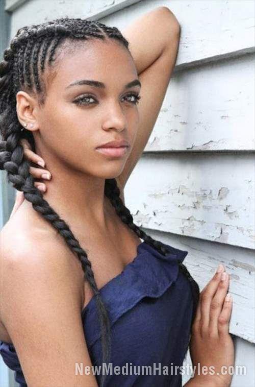 Enjoyable 1000 Ideas About Black Girl Braids On Pinterest Black Girl Short Hairstyles For Black Women Fulllsitofus
