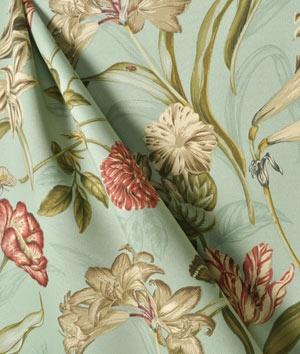 #Waverly Somerset Botanical Sun N Shade Mist #Fabric.