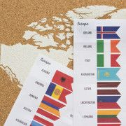 Flags-europa-continente-mapa-corcho