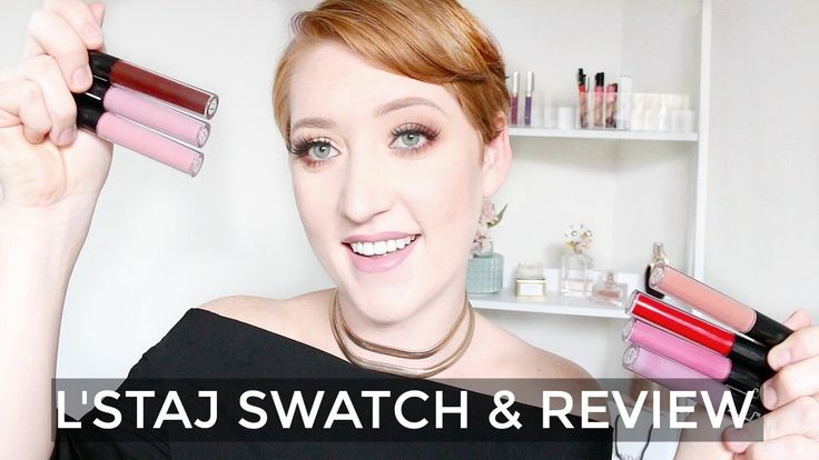 L'staj Liquid Lipsticks | Swatches & Review - YouTube
