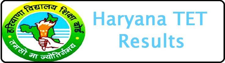 HTET Results 2014 - Haryana TET Result at htet.nic.in