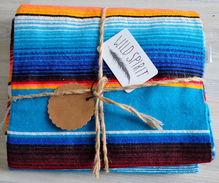 Serape Blanket / Mexikanische Decke / Medium
