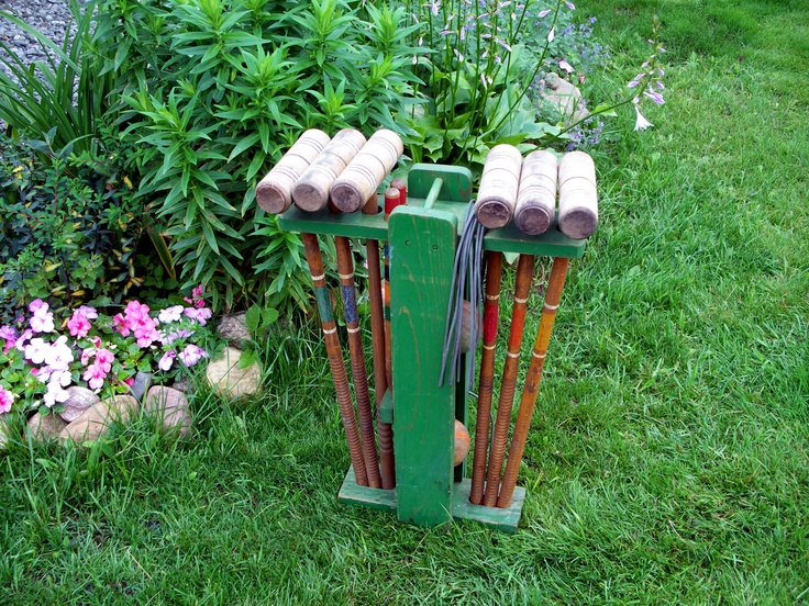 how to build a croquet stand