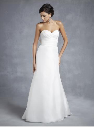 Šifón Mašle Přírodní Svatební šaty 2015