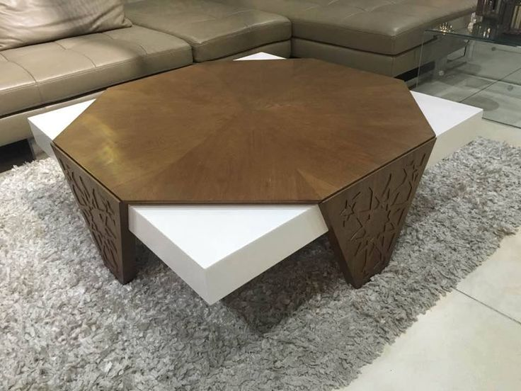 table basse blanc marron modern beldi les coulisses ameublement idee deco pinterest. Black Bedroom Furniture Sets. Home Design Ideas