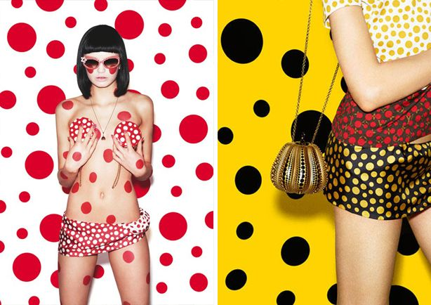 #SpringSummer2013 #SS13 #Fashion #Trend #Report by #TheTrendBoutique #Carnival Images & Collection by Yayoi Kusama Collaboration with Louis Vuitton #Print #Direction #PolkaDots