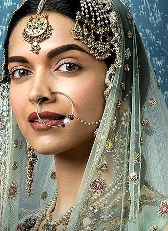 Deepika Padukone Bajirao Mastani.Classic Indian Beauty.#Indian Jewellery #Indian Jewellery Accessories