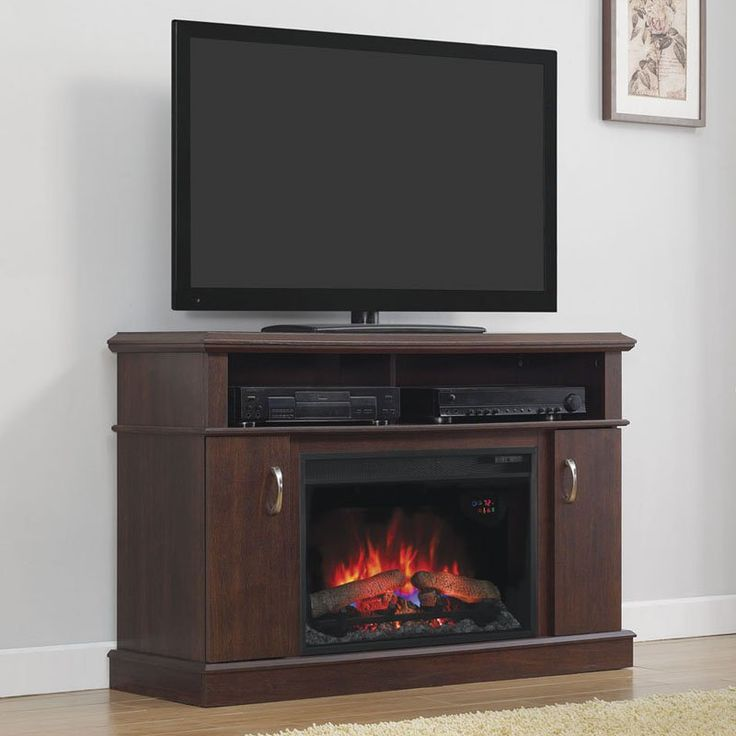 Classic Flame Dwell Electric Fireplace Entertainment Center - Midnight Cherry - 26MM5516-PC72