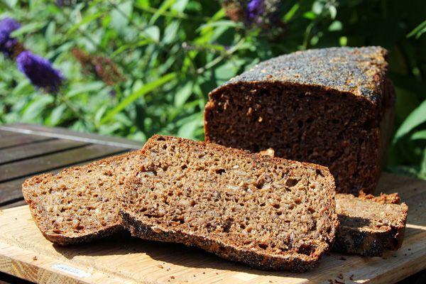 En allround opskrift på rugbrød, man kan bruge som helt generelt udgangspunkt for at lave et dejligt rugbrød.