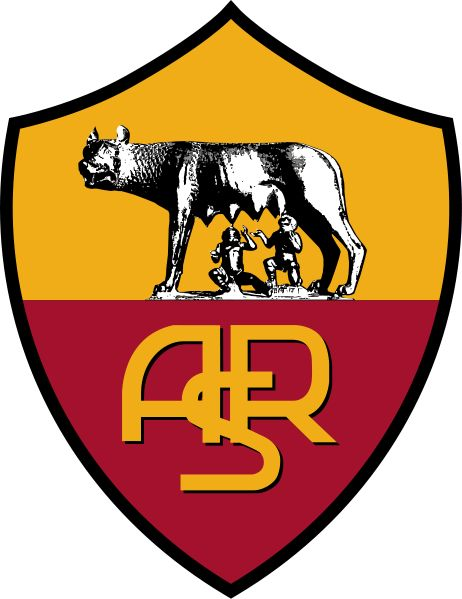 AS Roma (probably the best sports team crest ever)