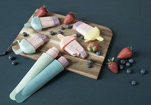 DIY – Zelfgemaakte bevroren yoghurt met verse bessen