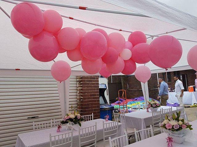 #jumboballoon ceiling cascade #sydneyballoondecorator #sydneyballoons #balloons