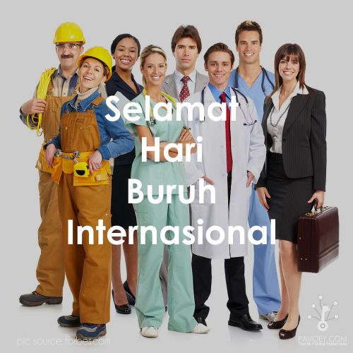 Selamat Hari Buruh Internasional! #HariBuruh #MayDay