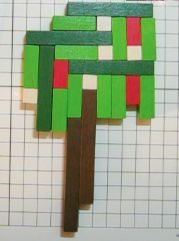 Cuisenaire Rods - Make trees and compare their values. You could add or you could multiply by making a rectangle with as many of the rods put together as possible then adding the left overs.