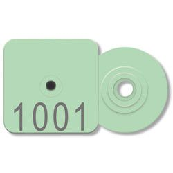 Allflex Piglet Numbered Tag with Blank Round