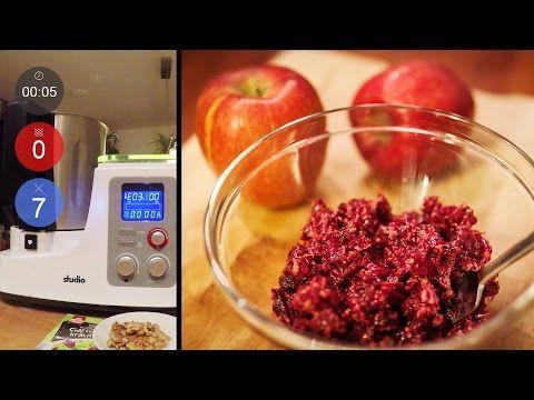 Vitaminreicher Walnuss-Rote-Bete Salat | Neues Rezept | Aldi Mixer (Thermomix-Klon) - YouTube