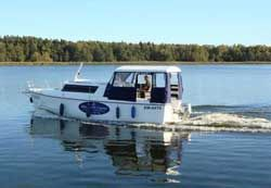 Hausboot Weekend 820 in Masuren #hausboot #hausbootferien #polen #urlaub #bootscharter #führerscheinfrei #urlaub2015 #hausboote #masuren