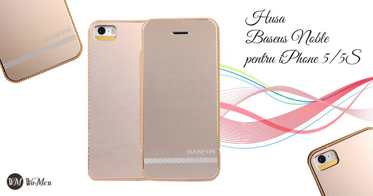 Husa Baseus Noble este o husa din aluminiu tratat electrolitic, cu design modern si elegant.