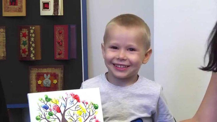 Мастер-класс рисуем пальчиками с детьми