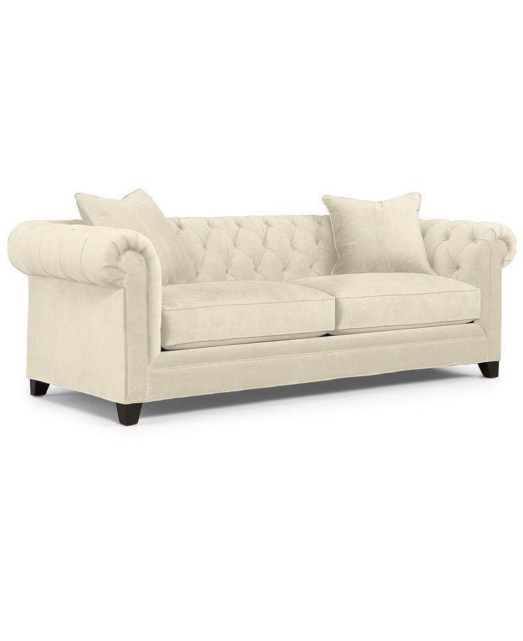 Martha Stewart Collection Saybridge Fabric Sofa Custom Colors Shops, Colors and Living room sofa