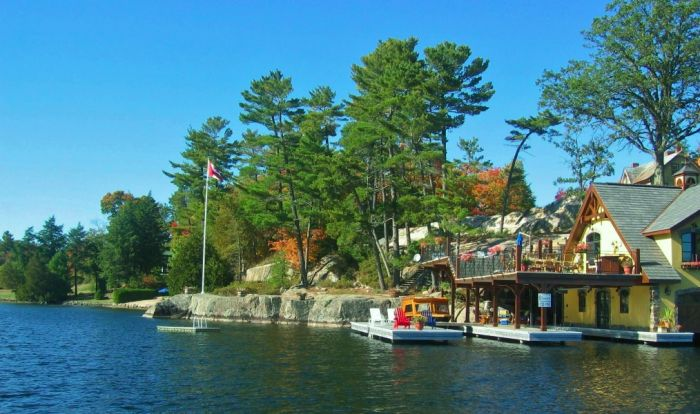 Beley Point, Lake Rosseau, Muskoka.  Once known as Ferncliffe; this historic piece of land is NOW SOLD.