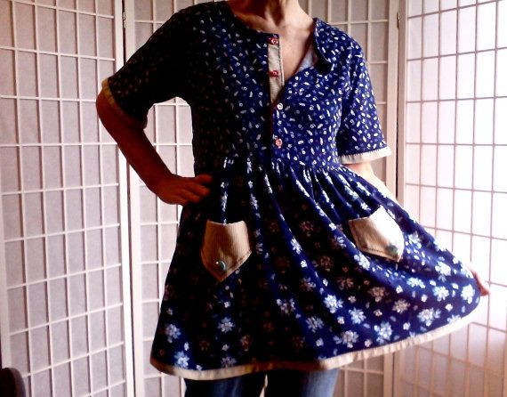 16 UpCycled Women's Clothing: Hipster Teen Quirky Mod by ArtzWear