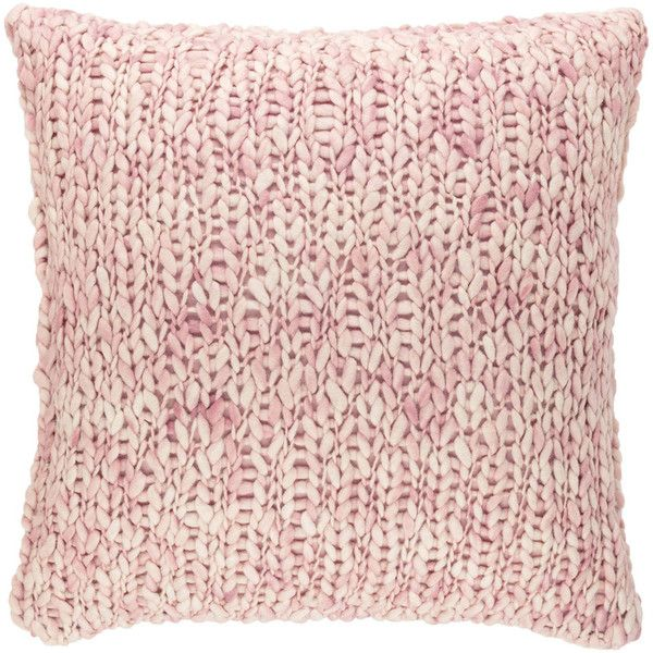 Pine Cone Hill Chunky Knit Slipper Pink Pillow Sham ($118) ❤ liked on Polyvore featuring home, bed & bath, bedding, bed accessories, geometric bedding, euro pillow-sham, pink geometric bedding, zipper bedding and contemporary bedding