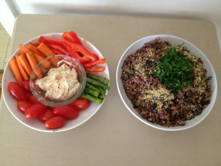 red #quinoa, parsley & #gomasio by @davidphilipegil #healthy #life #eat