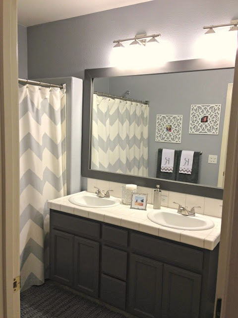 Good Before After Simple Makeover Of A Bathroom Decor