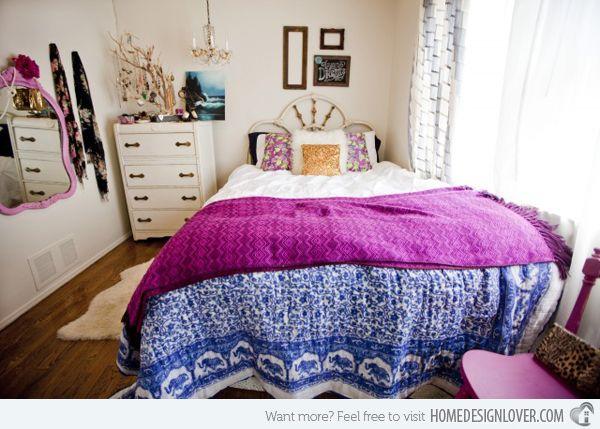 Bohemian Style Bedrooms   15 Fun Bohemian Style Bedroom Designs