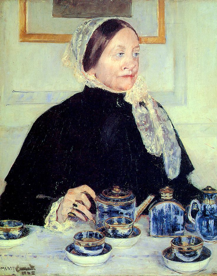 "Cassatt Mary - Lady At Tea Table  (from <a href=""http://www.oldpainters.org/picture.php?/51008/category/16491""></a>)"