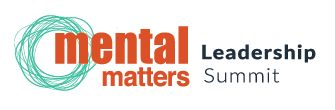 Mental Matters Leadership Summit Logo - Being able to change format with a logo is very important. All our designs come with a longline and stacked logo version.