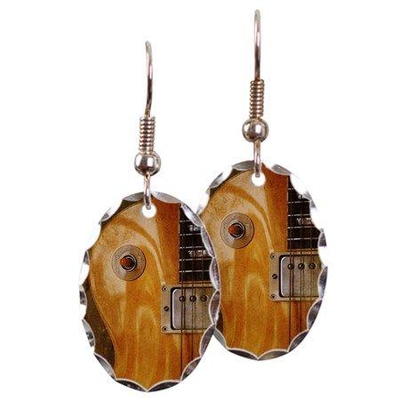 Earring Oval Charm on CafePress.com