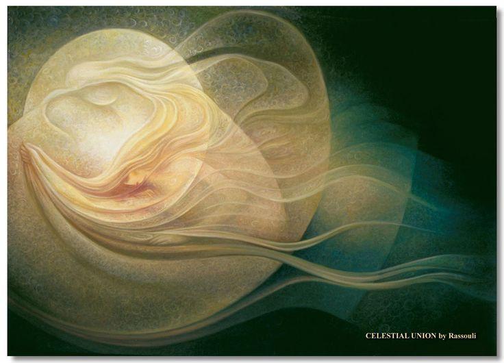 Art gallery of Rassouli spiritual arts, surrealism abstract paintings