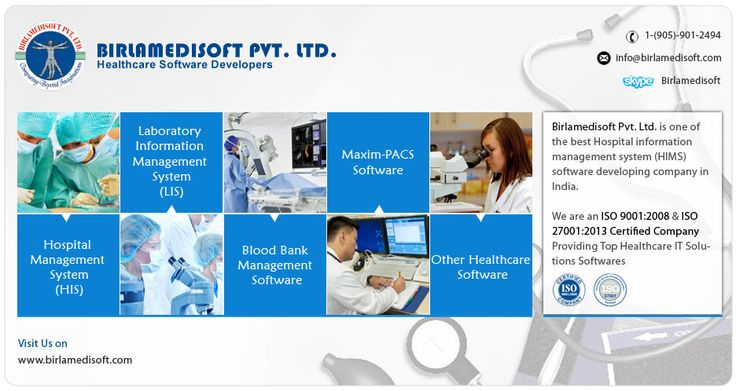 Birlamedisoft has developed a large number of healthcare softwares , which covers almost the entire spectrum of the healthcare industry.
