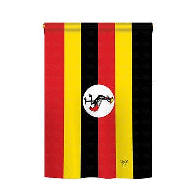 the uganda flag