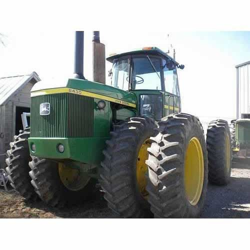 John Deere 8430 tractor. Salvaged for used parts. 877-530-4430 All States Ag Parts