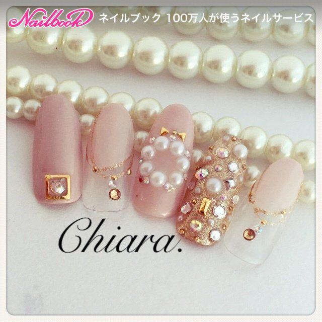winter♡ design❄️Instagram → yochan4.nail ネイルデザインを探すならネイル数No.1のネイルブック
